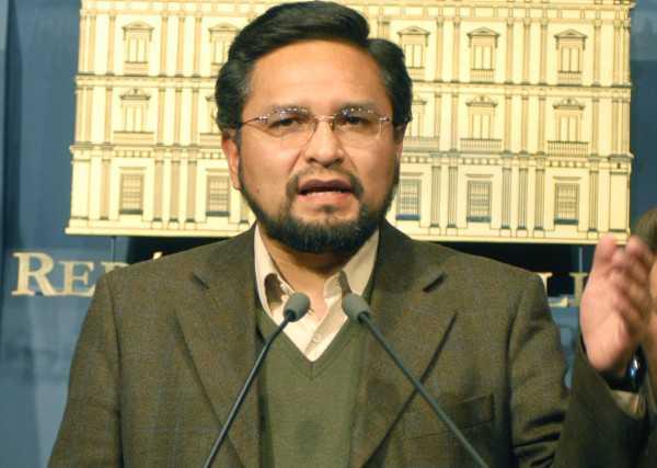 Alfredo Rada, viceministro de Coordinación con Movimientos Sociales.