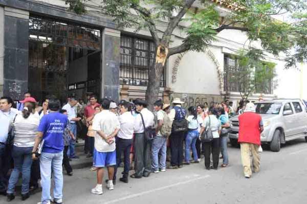 Tribunal Electoral Departamental de Tarija (Foto: Archivo)