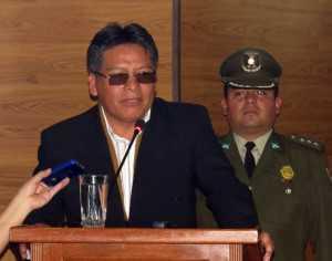 Zenón Bacarreza, presidente de TCP. (Foto: Correo del Sur)