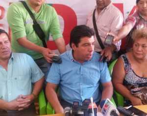 Ramiro vallejos y Wilman cardozo, anunciaron el inicio de la campaña para la segunda vuelta. (Foto: Archivo)