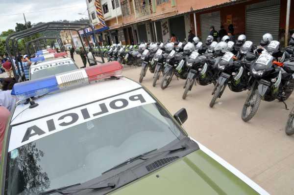 1.400 efectivos policiales en todo el departamento de Tarija apoyarán el proceso eleccionario.