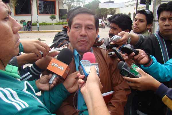 Ramiro Vallejos, alcalde electo de Yacuiba. (Foto: El Chaqueño)