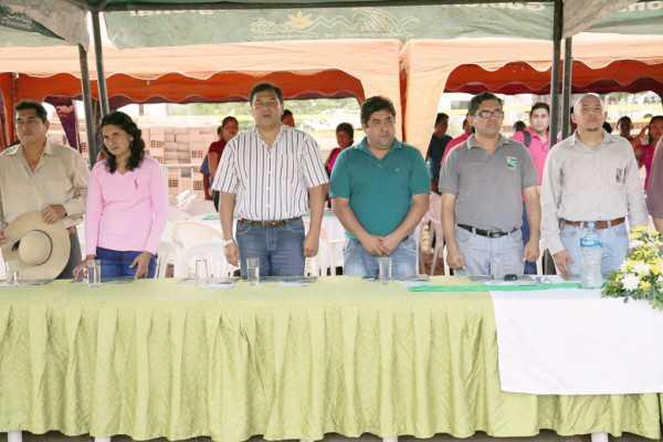 Autoridades electas participaron del aniversario. (Foto: El Chaqueño)