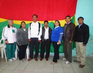 Nueva Directiva de la Asociación de Entrenadores de Yacuiba. (Foto: El Chaqueño)