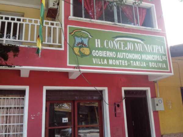 Nuevos Concejales de Villa Montes asumen funciones. (Foto. El Chaqueño)