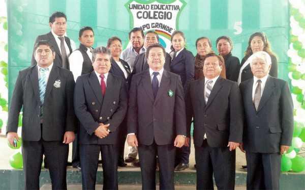 Plantel docente del Colegio Campo Grande B. (Foto: El Chaqueño)