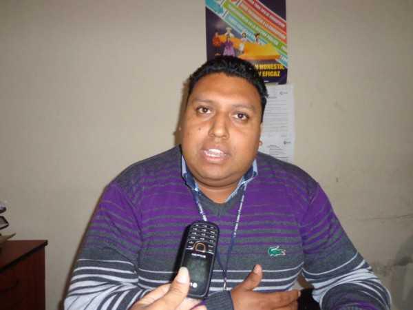 Roberto Gallardo, jefe Regional del Ministerio de Trabajo. (Foto: El Chaqueño)