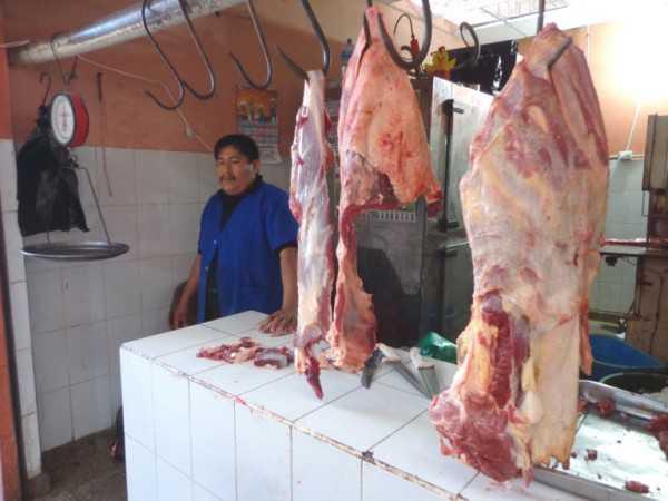 Carnicerías de Caraparí tienen desabastecimiento de carne. (Foto: El Chaqueño)