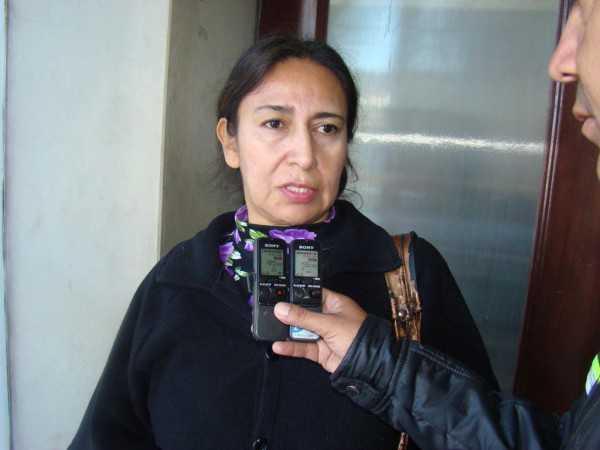 Lourdes Ortiz Garamendi, Subalcaldesa del distrito Uno. (Foto: El Chaqueño)