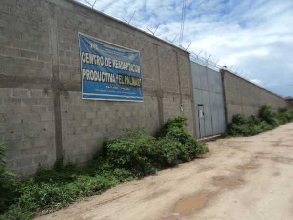 Centro de Readaptación Productiva El Palmar. (Foto: El Chaqueño)