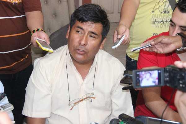Santos Rengifo, presidente del Club Petrolero. (Foto: El Chaqueño)