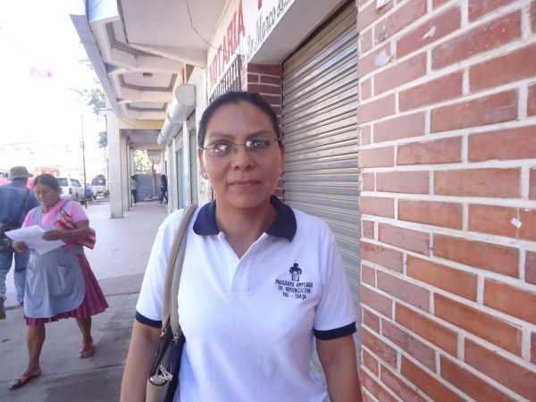 Dra. Irene Obando, responsable de la Red de Salud de Villa Montes. (Foto: El Chaqueño)
