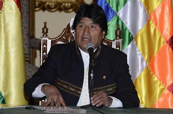 Presidente de Bolivia Evo Morales. (Foto: ABI)