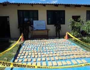 Marihuana decomisada en La Vertiente, camino de Villa Montes a Paraguay. (Foto: El Chaqueño)