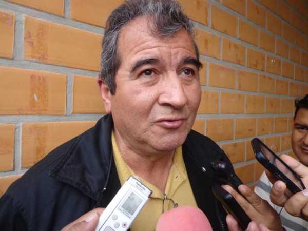Aldo Fernandez, director UE 3 de Mayo Tarde. (Foto: El Chaqueño)