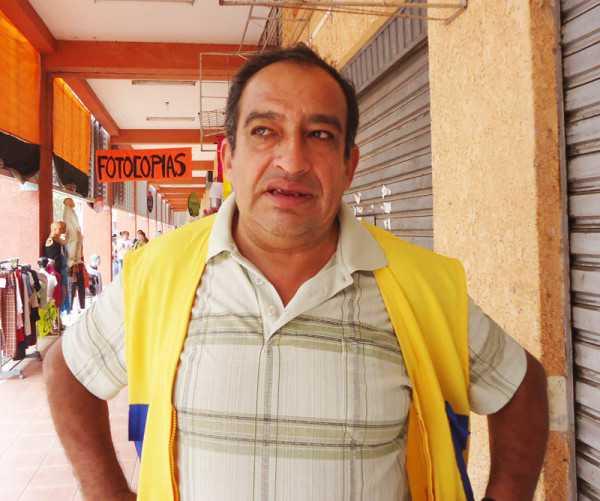 Marcelo Vizcarra, Intendente Municipal de Villa Montes. (Foto: El Chaqueño)