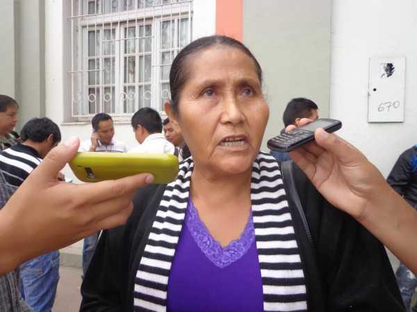 Tereza Arauz, vecina del barrio Monte Redondo. (Foto: El Chaqueño)