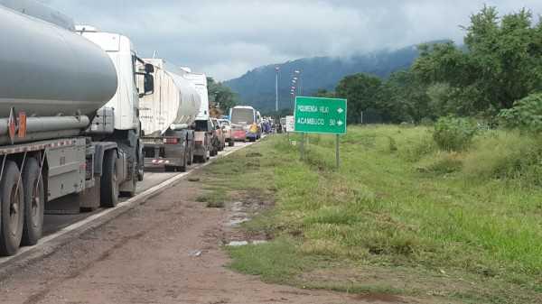 Corte en la ruta 34, Aguaray. (Foto: El Tribuno)