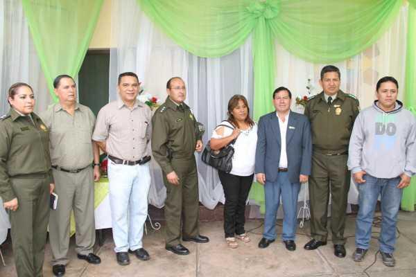 Acto conmemorativo al aniversario de la Unidad Operativa de Tránsito. (Foto: El Chaqueño)