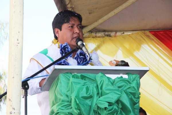 José Quecaña, ejecutivo seccional de desarrollo de Yacuiba. (Foto: El Chaqueño)