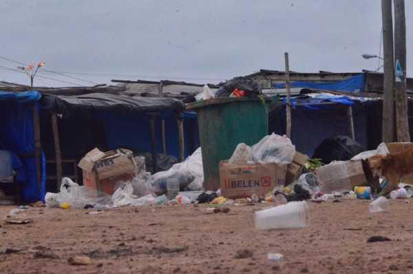Mercado campesino de la ciudad de Villa Montes. (Foto: El Chaqueño)
