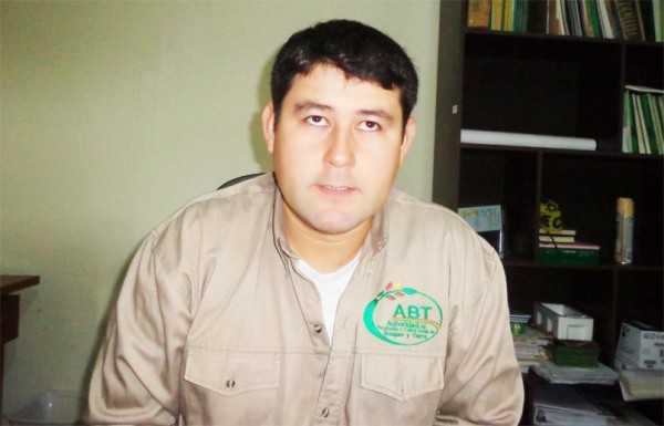 Roly Torrez responsable de la ABT. (Foto: El Chaqueño)