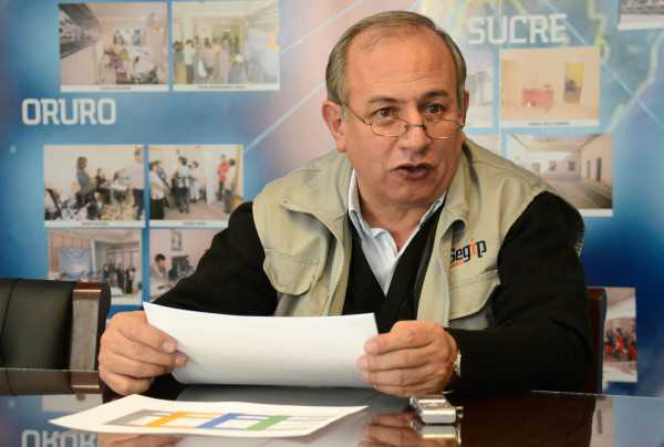 Antonio Costas, director del SEGIP. (Foto: cambio.bo)