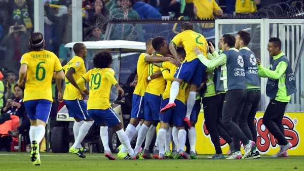 Brasil terminó primero en su grupo. (Foto: Copa América 2015)