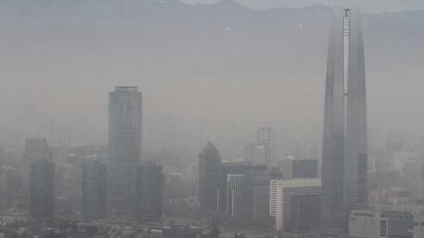 Santiago es una de las capitales más contaminadas de América Latina. (Foto: el Tribuno)