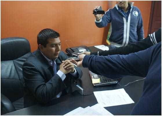 Ariel Herbas Rosales, gerente regional de SETAR, sistema Yacuiba. (Foto: El Chaqueño)