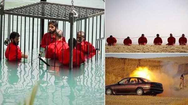 Nueva ejecución masiva por parte del Islam. (Foto: twitter)