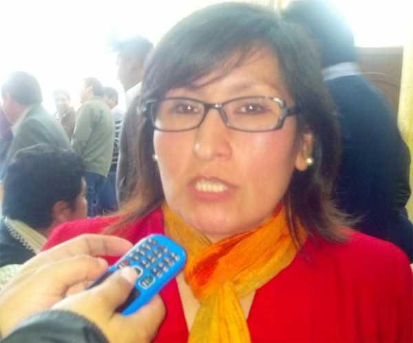 Mabel Morales, Secretaria de salud del Gobierno Municipal de Yacuiba. (Foto: El Chaqueño)
