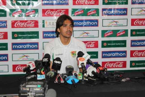 Marcelo Moreno, lacarta de gol del seleccionado boliviano. (Foto: Copa América 2015)