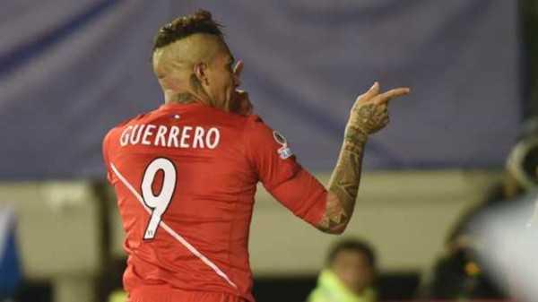Paolo Guerreo, verdugo de la selección boliviana. (Foto: Copa América 2015)