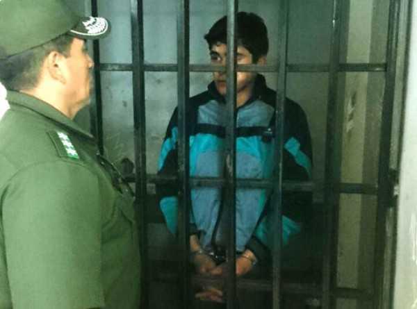 El sospechoso podría ser el autor de un hecho de sangre ocurrido en abril en una farmacia de Tarija. (Foto: El País)