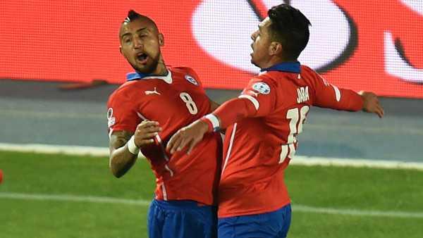 Arturo Vidal, una de las figuras de Chile. (Foto: Copa América Chile 2015)