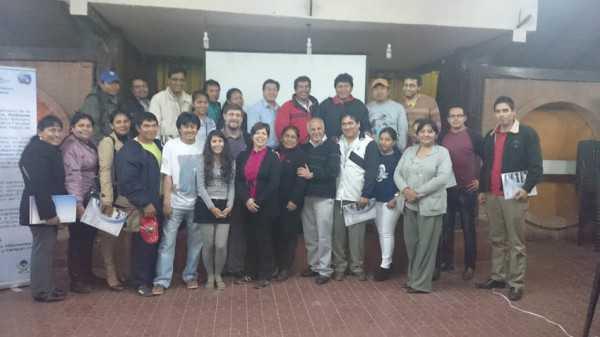 Equipo multidisciplinario del proyecto cambio climatico vulnerabilidad y salud en Bolivia. (Foto: El Chaqueño)