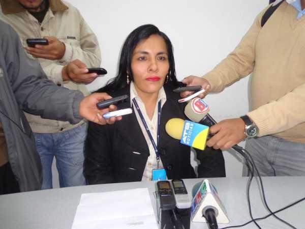 Maribel Suarez, gerente distrital de impuestos nacionales en Yacuiba. (Foto: El Chaqueño)