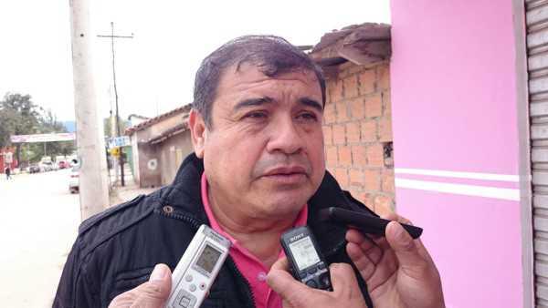 Eduardo Teran presidente de la Asamblea de deportes de Caraparí. (Foto: El Chaqueño)