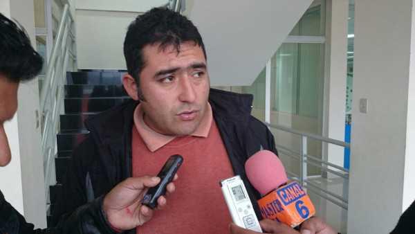 Jimmy Pizarro, coordinador Red de Salud Caraparí. (Foto: El Chaqueño)
