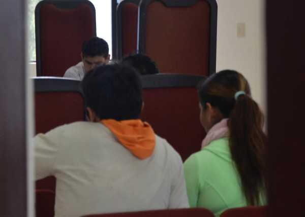 Momentos en que se realizaba la audiencia sobre el caso. (Foto: El Chaqueño)