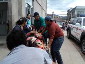 Luis Daniel Galarza Cari, fue llevado al hospital Rubén Zelaya. (Foto: El Chaqueño)