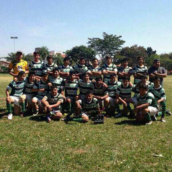 El plantel de Yacuiba Rugby Club.