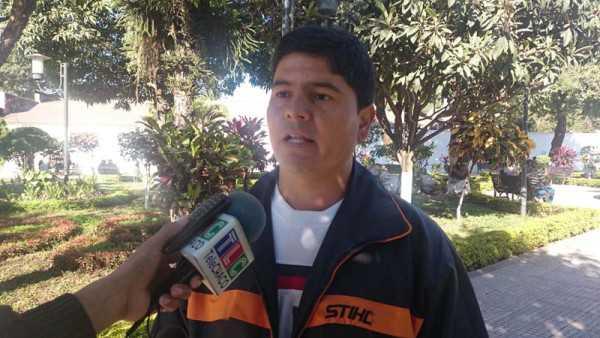 Marcelino Reinaga, presidente del barrio Nacional. (Foto: El Chaqueño)