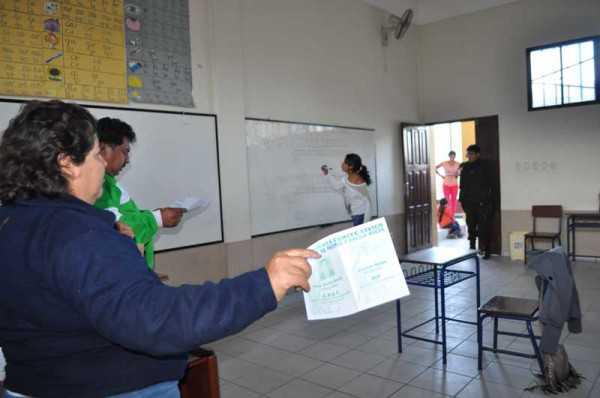 Elecciones en el distrito uno, desarrolladas el domingo 26. (Foto: El Chaqueño)
