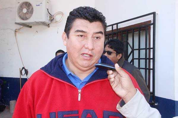 Jimmy Peralta, director del Servicio Regional de Deportes. (Foto: El Chaqueño)