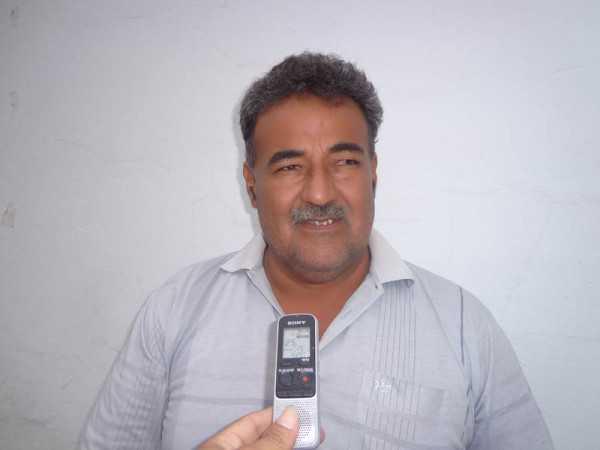 Gilmar Duran, presidente de FEJUVE. (Foto: El Chaqueño)