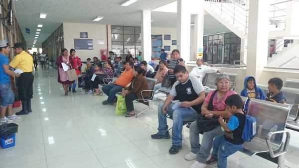 Instalaciones del SEGIP en Yacuiba. (Foto: El Chaqueño)