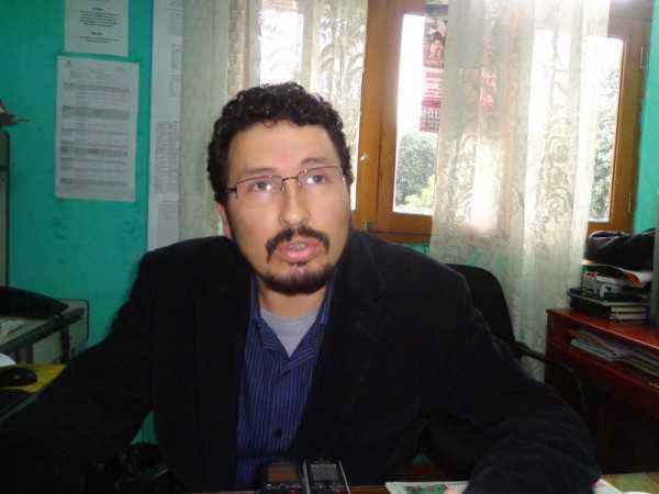 Miguel Angel Gallardo, representante de la Mesa Defensorial. (Foto: El Chaqueño)