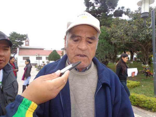Néstor condarco, presidente de adultos mayores. (Foto: El Chaqueño)
